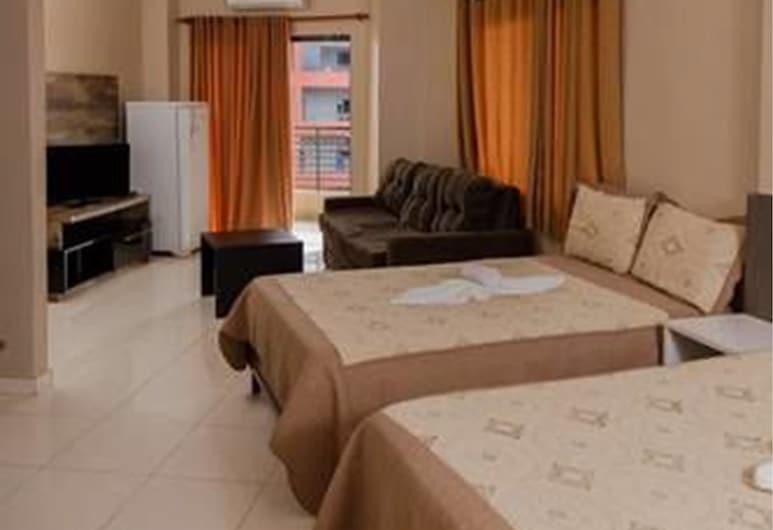 クラス アパート ホテル, エンカルナシオン, ベーシック ツインルーム ベッド (複数台) 禁煙 シティビュー, 部屋