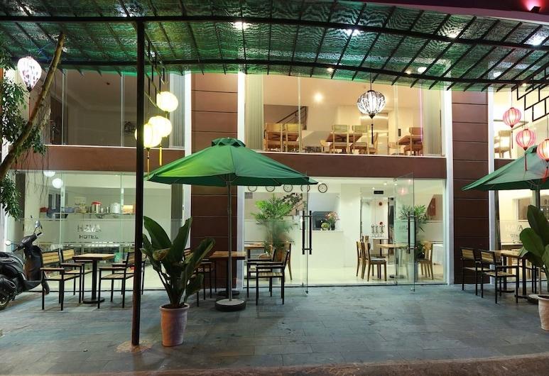 哈亞海灘飯店, 峴港, 飯店入口