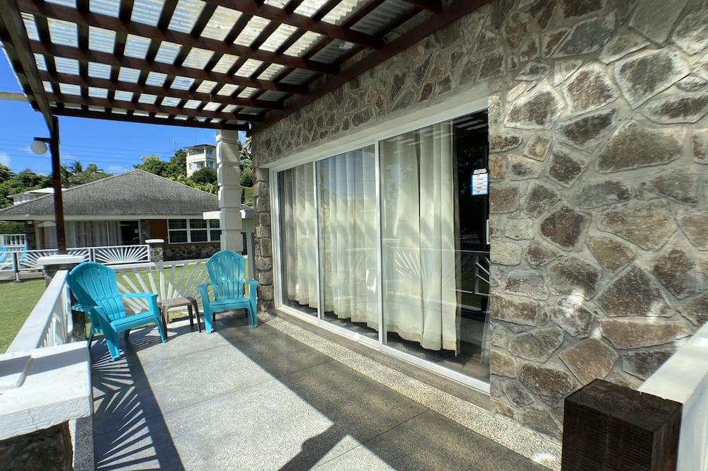 Deluxe villa, 1 slaapkamer, kitchenette - Terras