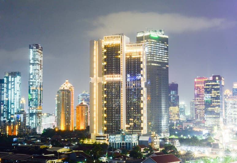 Exclusive City View 3BR Apartment at Bellagio Residence, Jakarta, Extérieur