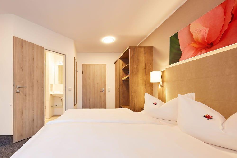 Двомісний номер «Делюкс», 1 ліжко «квін-сайз», для некурців, з видом на парк - Житлова площа