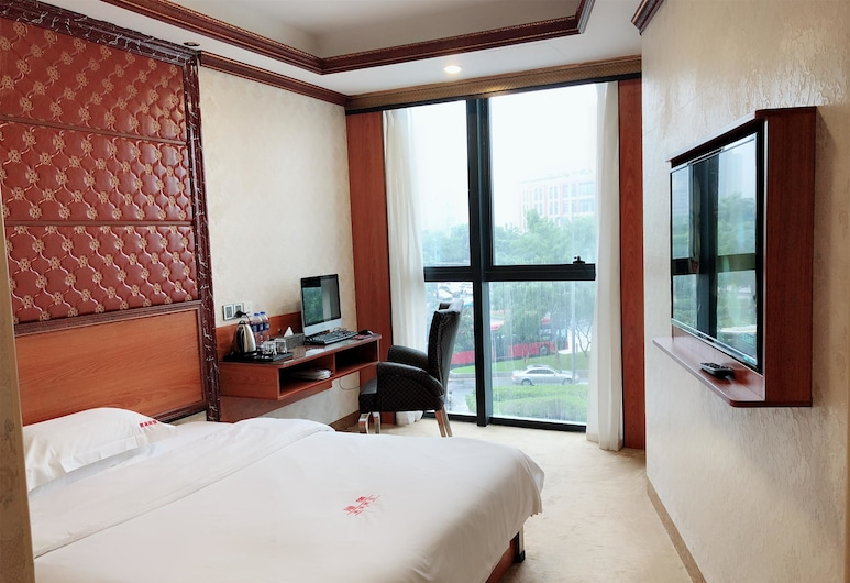Guangzhou Mei Ling Hotel, Guangzhou, Luksuzna dvokrevetna soba, Pogled iz sobe za goste