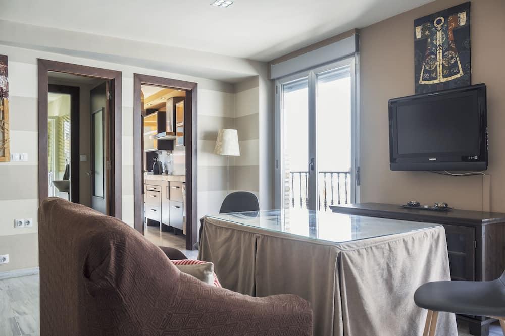 Korter läbi kahe korruse, 3 magamistoaga - Esimene mulje