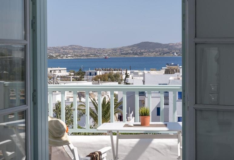 Thalassitra Private Pool Suites & Spa, Milas, Ištaigingo stiliaus numeris, atskiras baseinas, vaizdas į jūrą, Balkonas