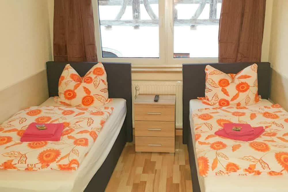 Kambarys (1 dvigulė / 2 viengulės lovos) su pagr. patogumais, 2 viengulės lovos, Nerūkantiesiems - Kambarys