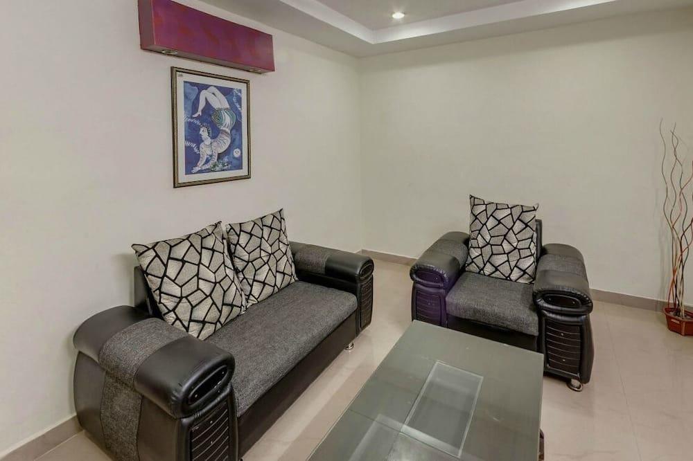 奢華公寓, 1 張加大雙人床, 非吸煙房 - 客廳