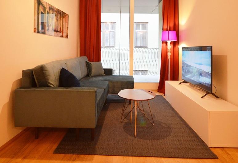 Premium Residence near Parliament, Vienna, Premium Apartment, Living Area