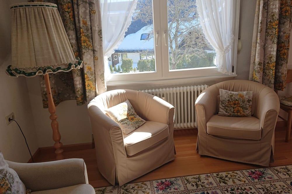 Classic Δίκλινο Δωμάτιο (Double), Θέα στον Κήπο - Περιοχή καθιστικού