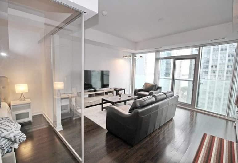 Exquisite High-Rise 1 Bedroom next to Scotia Arena, Toronto, Kamer