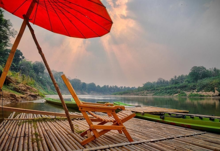 Fan Dee Hotel, Luang Prabang, Sundeck