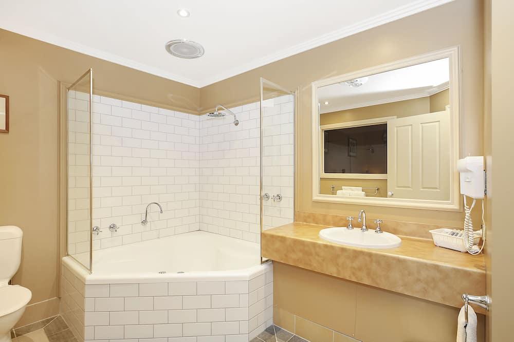 Luxe kamer, 1 kingsize bed, niet-roken - Badkamer