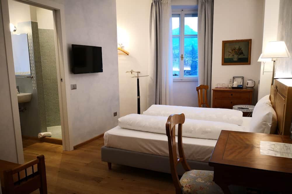 Camera con letto matrimoniale o 2 letti singoli - Vista città