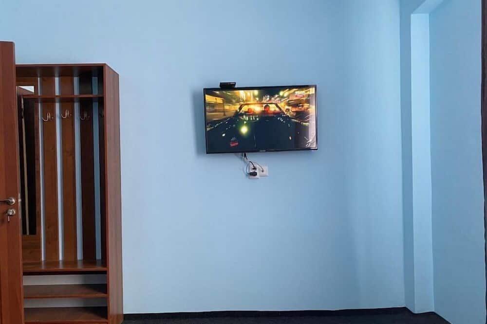 Pokoj Basic s dvojlůžkem nebo dvěma jednolůžky - Obývací prostor
