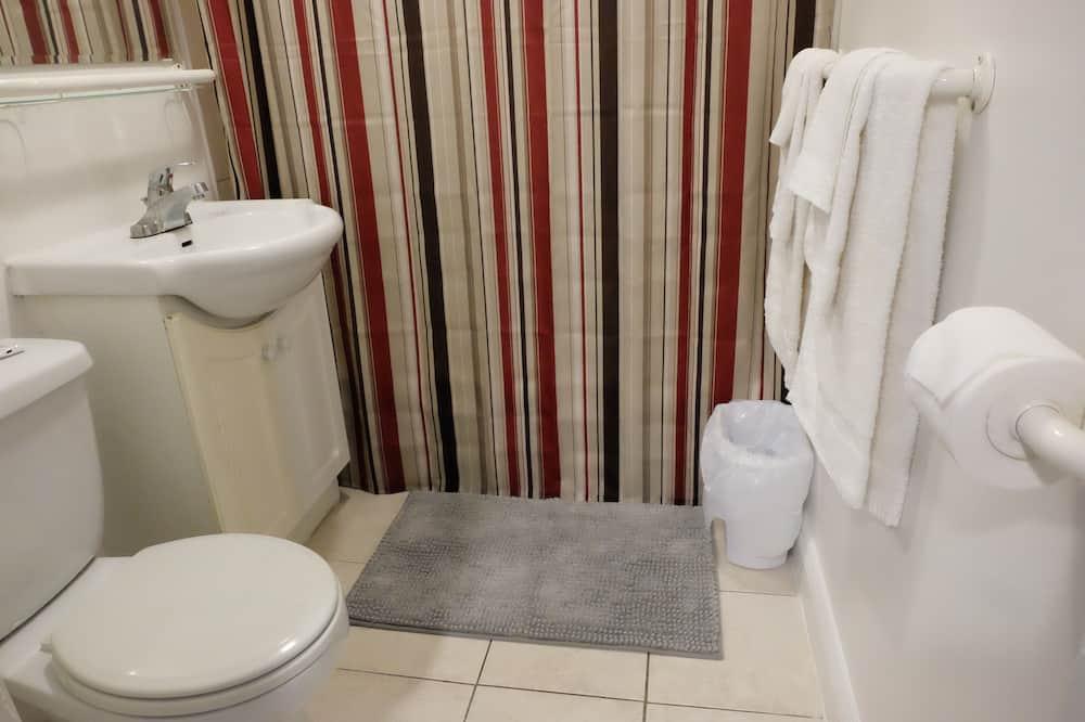 Basic Oda, 1 Büyük (Queen) Boy Yatak, Sigara İçilmez - Banyo