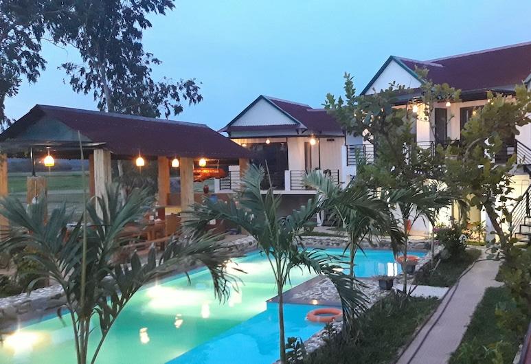 Palafita bungalow, Bo Trach , Trippelrum, Balkongutsikt
