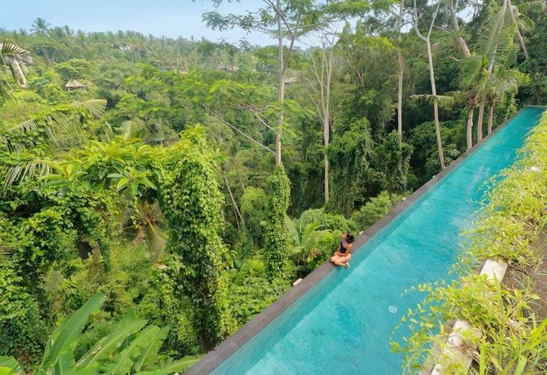 The Hidden Paradise Hill Suites & Villas by EPS, Ubud, Suite Premier, pemandangan bukit, Pemandangan Kamar Tamu