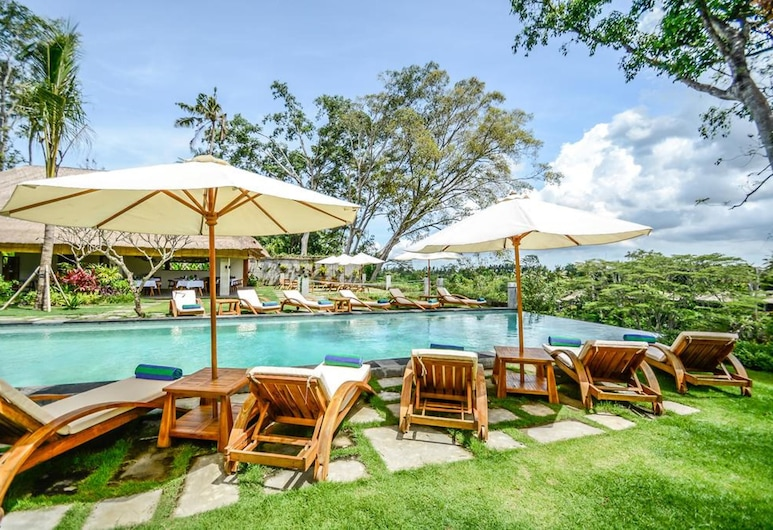 The Hidden Paradise Hill Suites & Villas by EPS, Ubud, Kolam Renang Infinity