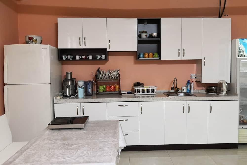 Standard-Doppelzimmer - Gemeinschaftsküche