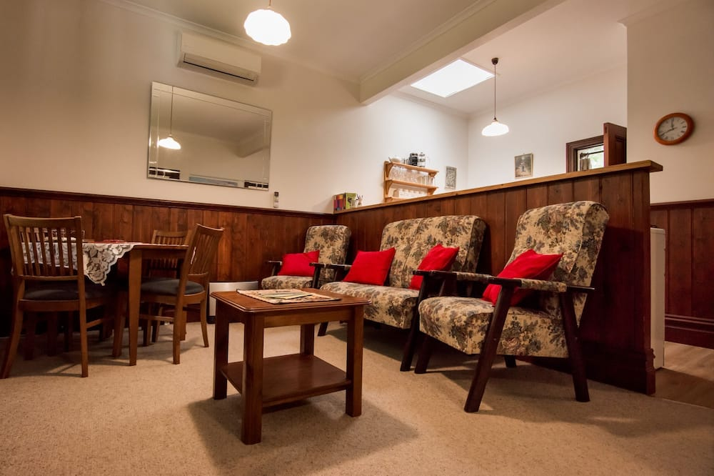 2 Bedroom Family Cottage  - Living Area