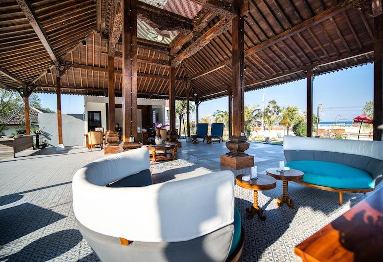 Ergon Pandawa Beach Hotels & Resorts, Gili Trawangan, Lobby Sitting Area