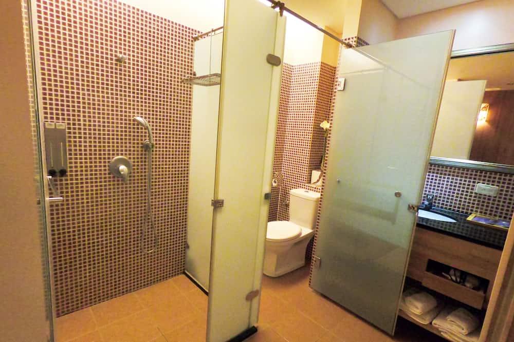 基本雙人房, 1 張加大雙人床, 非吸煙房 - 浴室淋浴間
