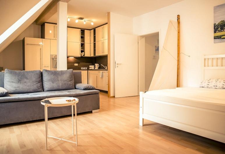 Schwerin City Apartment, Schwerin, Estudio, Habitación