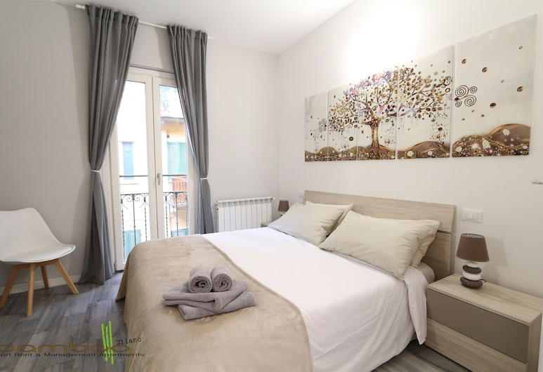 Bamboo Milano Farini A, Milaan, Familie appartement, privébadkamer, Kamer