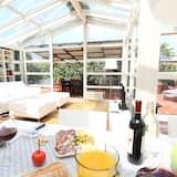 Premium Penthouse, Terrace, City View - Living Area