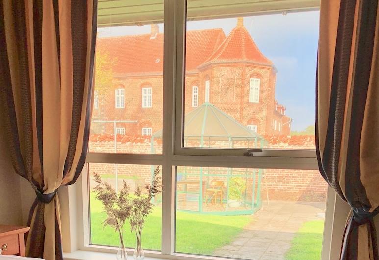 Møllehuset, Hadsund, Quarto Duplo, Casa de Banho Privativa, Vista do Quarto