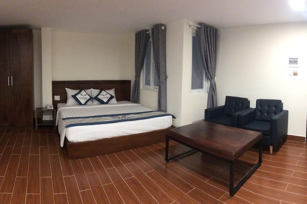 Представительский двухместный номер с 1 двуспальной кроватью (VIP) - Зона гостиной