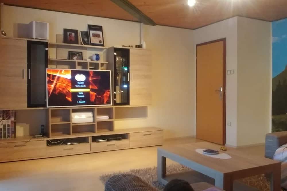 Departamento Deluxe, vista a la montaña - Sala de estar