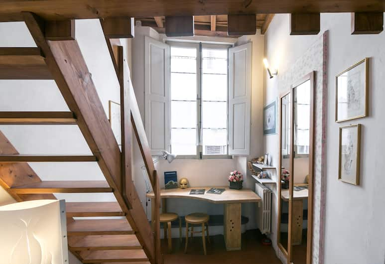 A Hideaway in the Heart of Florence, Florence, Appartement, 2 slaapkamers, Woonruimte