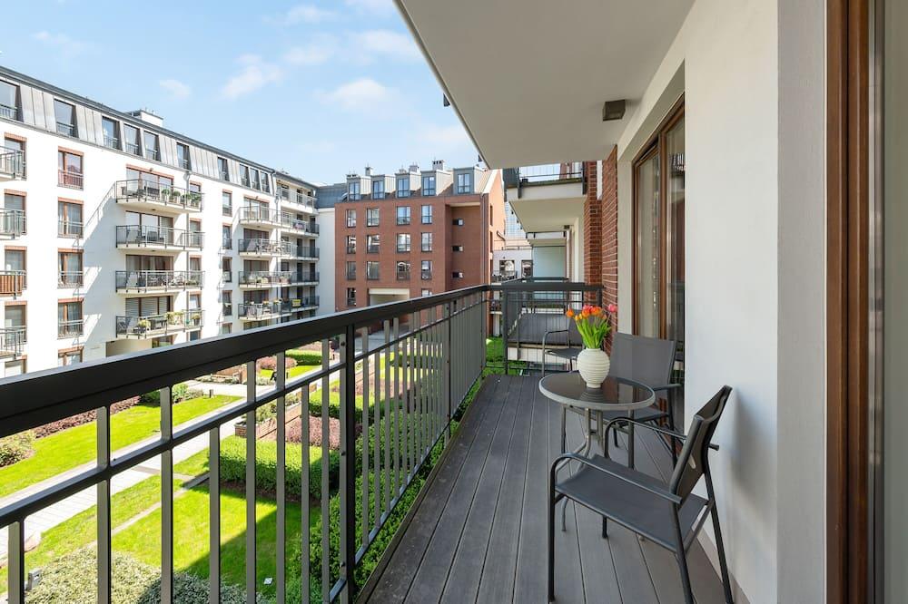 Апартаменти преміум-класу, з видом на пристань - Балкон