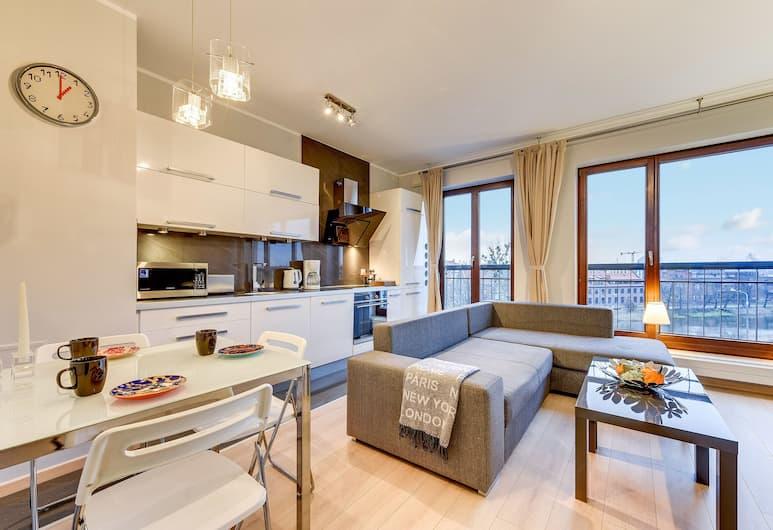 Blue Mandarin Apartments - Szafarnia, Gdansk, Elite Apartment, Bilik Rehat