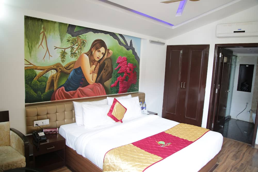 חדר קלאסי זוגי, מיטת קינג, ללא עישון, נוף להר - חדר נושא לילדים