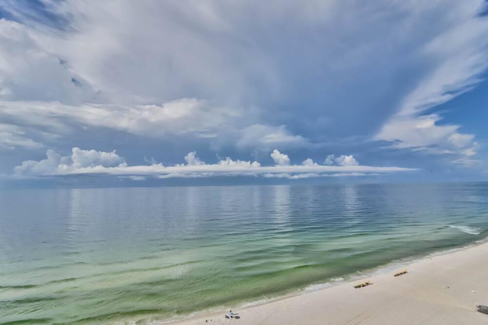 Lakás, 1 hálószobával, pezsgőfürdő, kilátással az öbölre (Gulf Shores Surf & Racquet Club #401C) - Strand