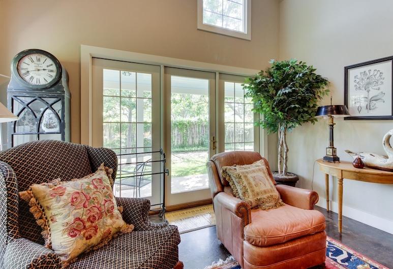 Eva's Guest House, Fredericksburg, Maisonnette, 2 slaapkamers, open haard (Eva's Guest House), Kamer