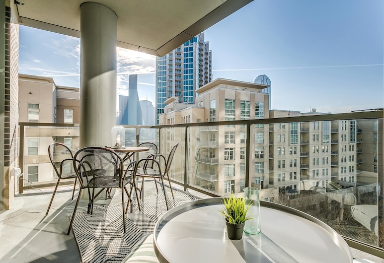 Sublime 1br/1ba in Uptown Dallas, Dallas, Loftsrom, 1 soverom, Balkong