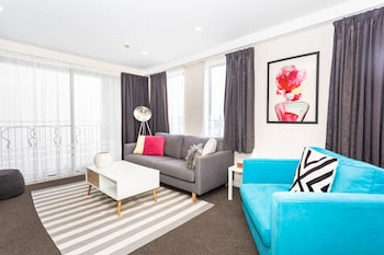 Foto Cathedral Junction Apartment di Christchurch