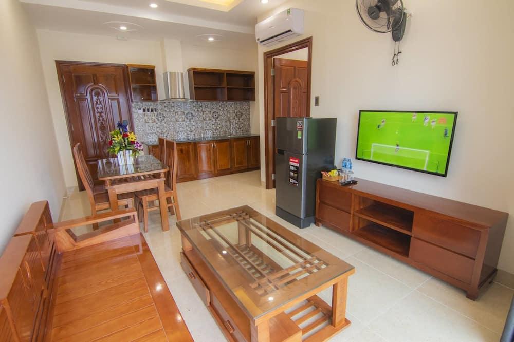 Suite Apartment - ห้องนั่งเล่น