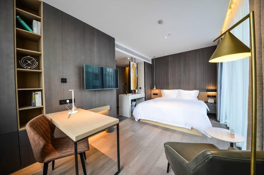 商務大床房 (無法接受過境免簽證客人的預訂) - 客房
