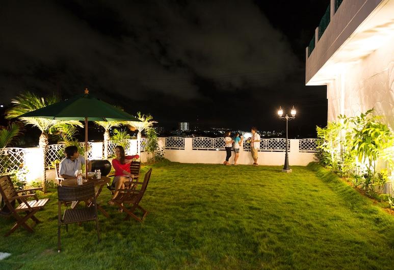 VILLA Kano, Okinawa, Deluxe-sviitti (with Garden), Terassi/patio