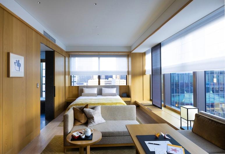 The Okura Tokyo, Tokyo, Heritage Room Corner King Non-smoking (Breakfast & Club Lounge Access Incl., Minibar free, 60 m2), Guest Room