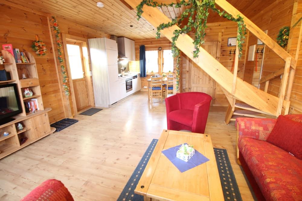 House (Blockhaus 2 (incl. 60€ + City Tax)) - Living Area