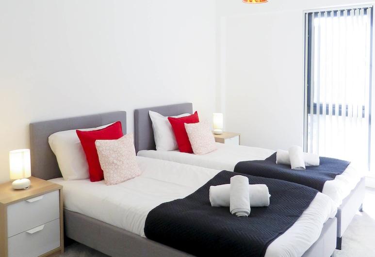 Tudors eSuites - Fabrick Twin Bed Apartment, Birmingham, Business Apartment, Non Smoking, Room