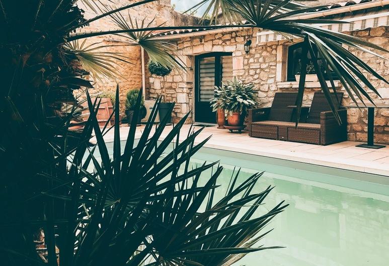 Hôtel Particulier Payan-Champier, Saint-Paul-Trois-Chateaux, Piscina al aire libre