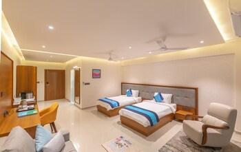 A(z) Vinnca Amba Suites hotel fényképe itt: Gandhinagar