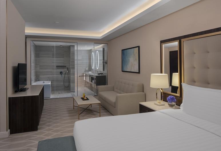 Dusit Doha Hotel, Doha, Paaugstināta komforta numurs, 1 divguļamā karaļa gulta, Viesu numurs