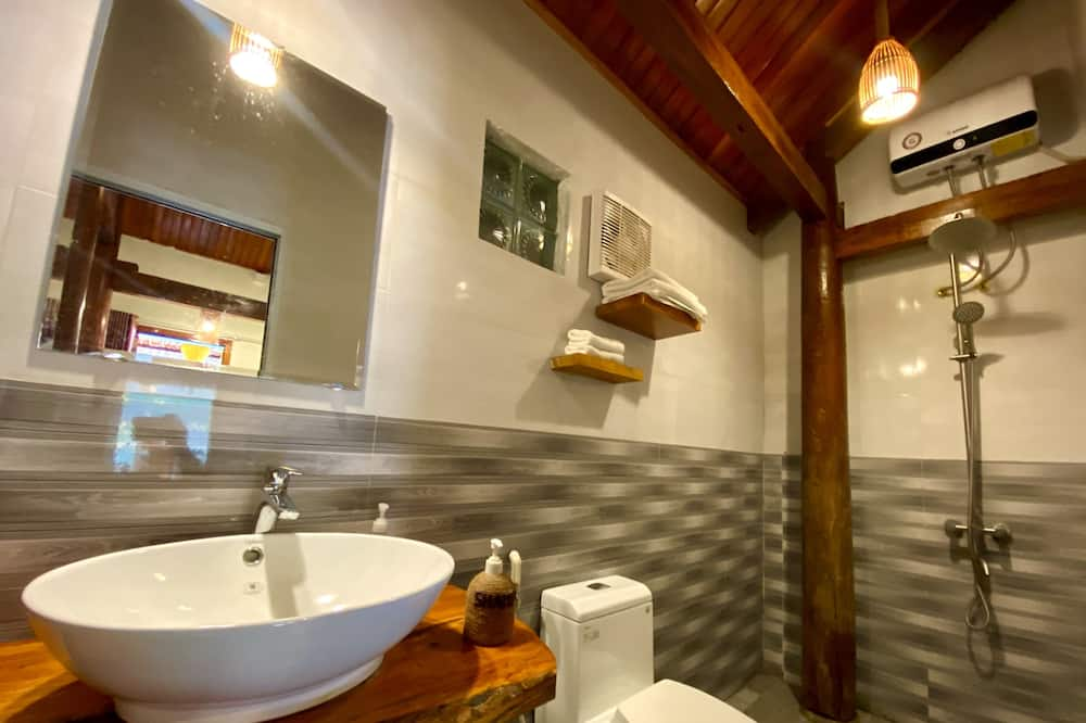 Cozy Deluxe, Balcony, River & Mountain View - ห้องน้ำ