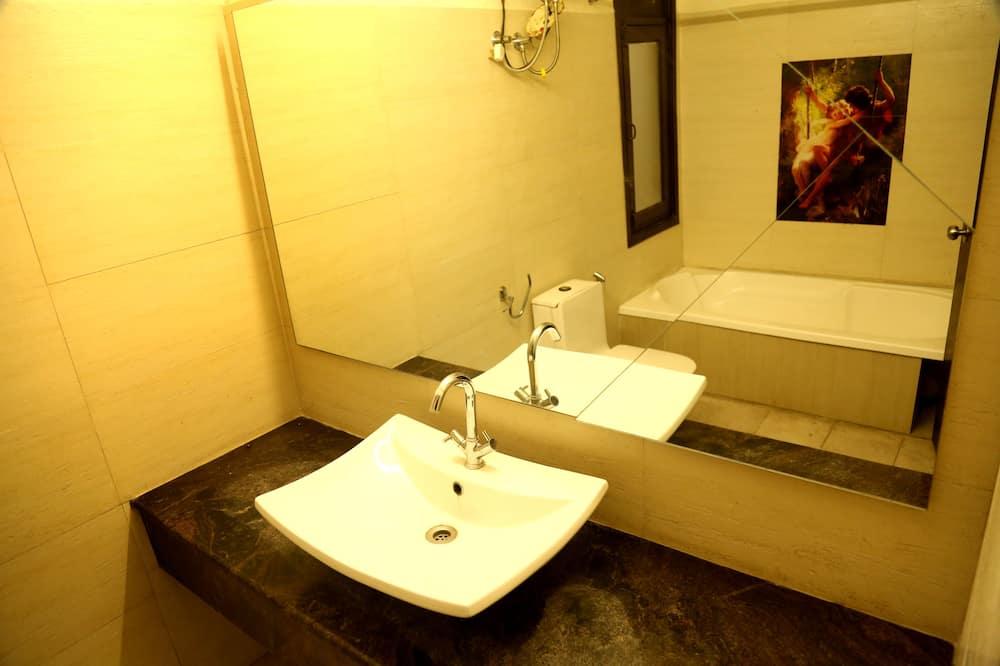 חדר סופריור - חדר רחצה